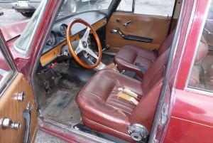 Alfa Berlina and MB 280 SE sedan 238